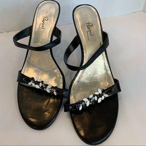 PREVIEW (Nordstrom) 12 white/black summer sandal